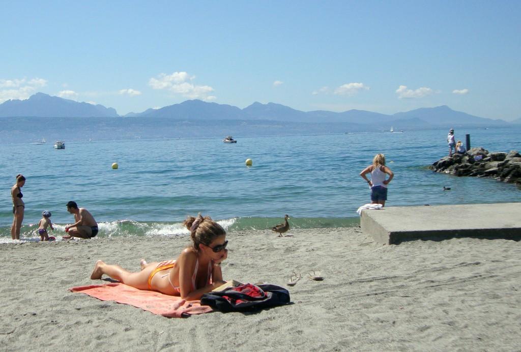 Пляжная красота
